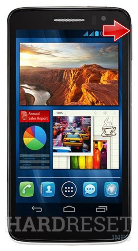 Master Reset ALCATEL OT-8008D One Touch Scribe HD