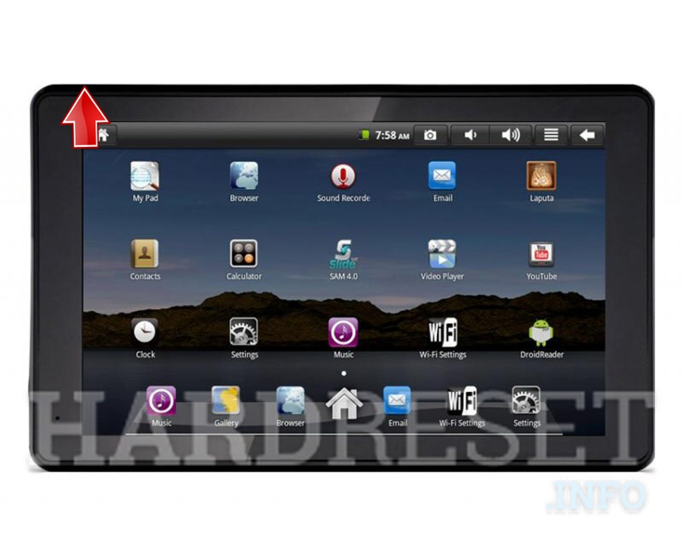 Hard Reset GOCLEVER Tab I70