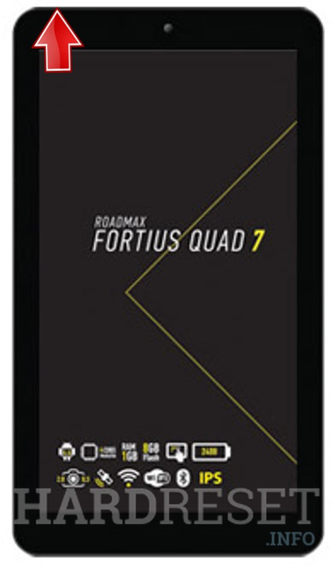 Hard Reset ROADMAX Fortius Quad 7