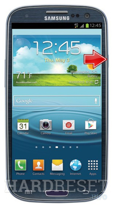 Permanently delete data from SAMSUNG L710 Galaxy S III