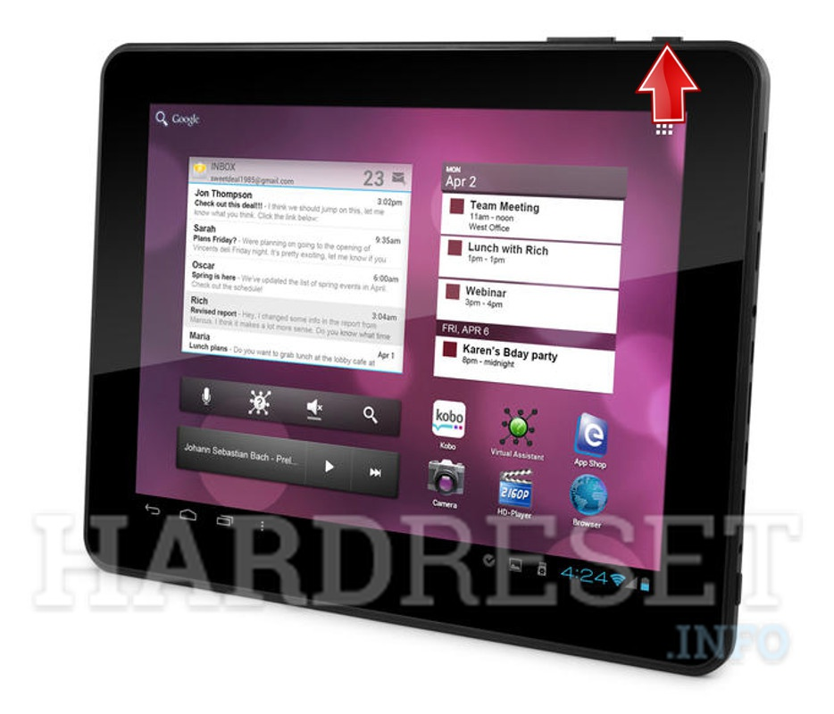 Hard Reset EMATIC eGlide Pro X