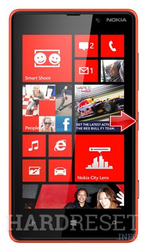 Hard Reset NOKIA Lumia 820 - HardReset info