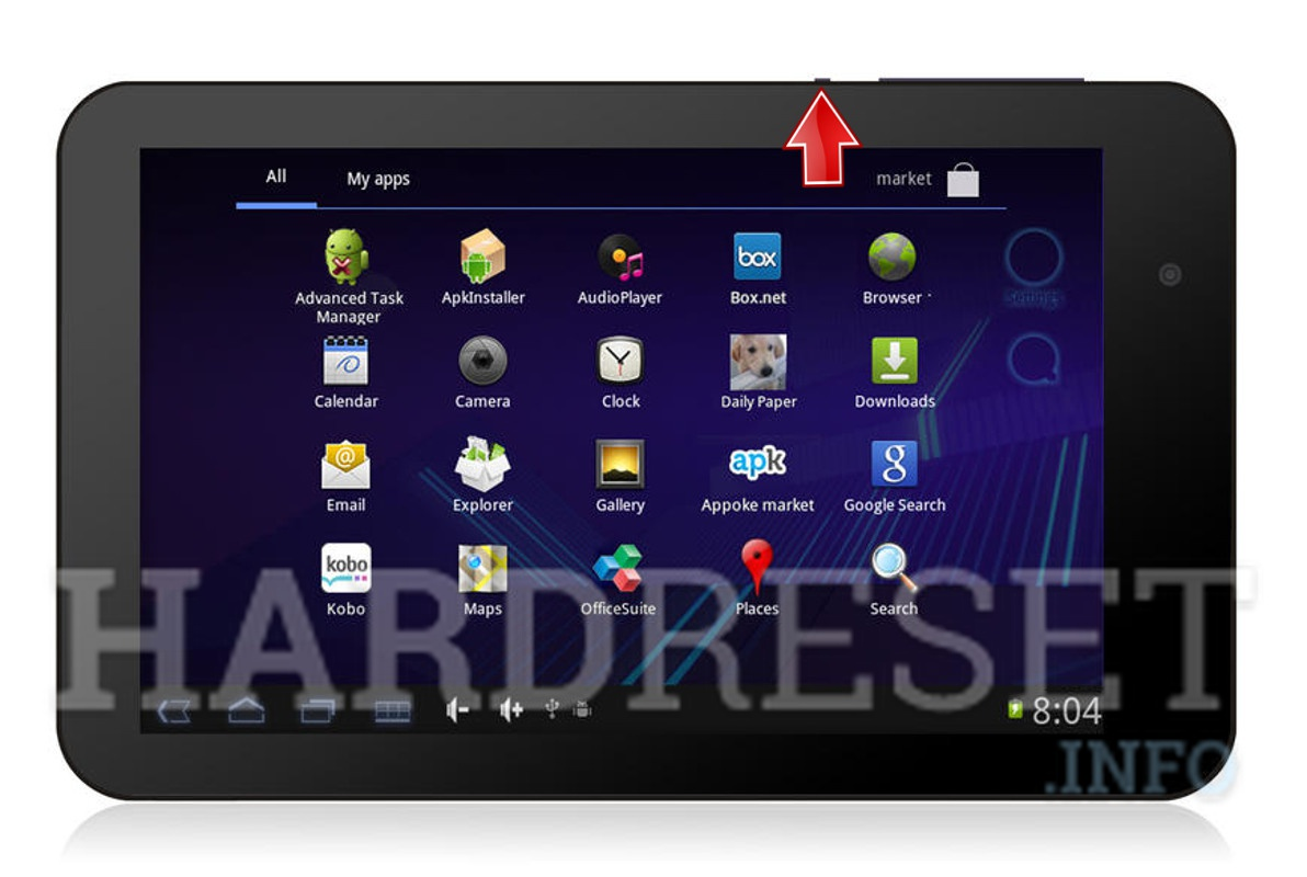 Hard Reset EMATIC eGlide Pro 2