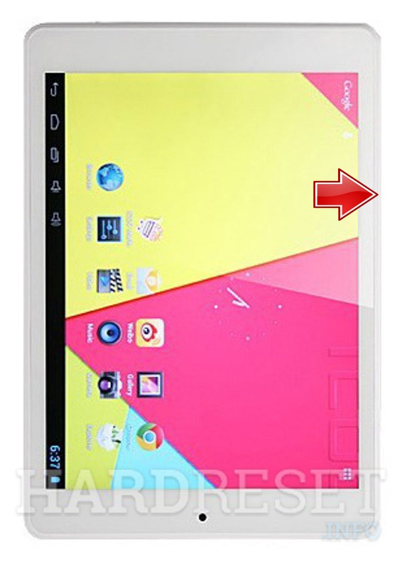 Hard Reset ICOO Fatty2 Quad Core 7.9