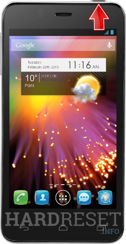 Hard Reset ALCATEL 6010 ONE TOUCH STAR