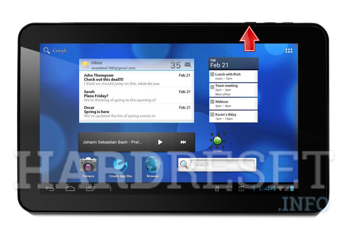 Hard Reset EMATIC Eglide XL Pro 2