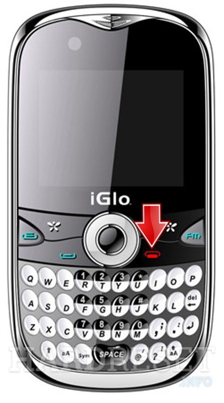 Permanently delete data from iGlo Q800