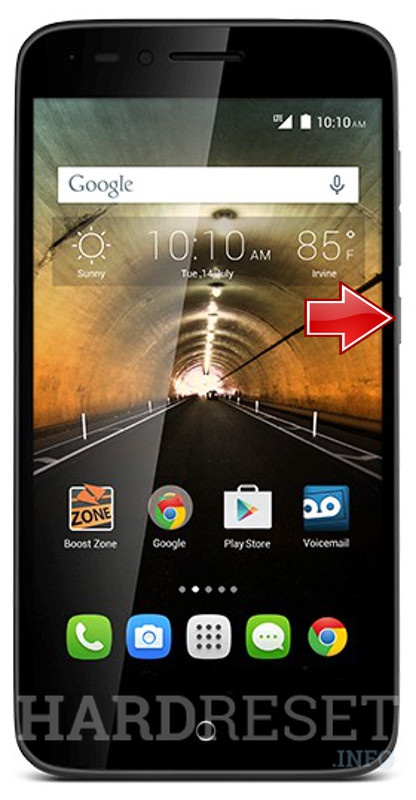 Hard Reset ALCATEL One Touch Conquest
