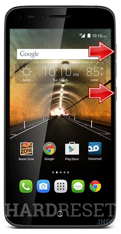 HardReset ALCATEL One Touch Conquest
