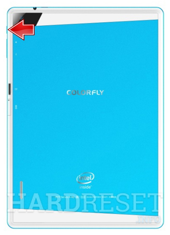 Hard Reset COLORFUL Colorfly i977 Air