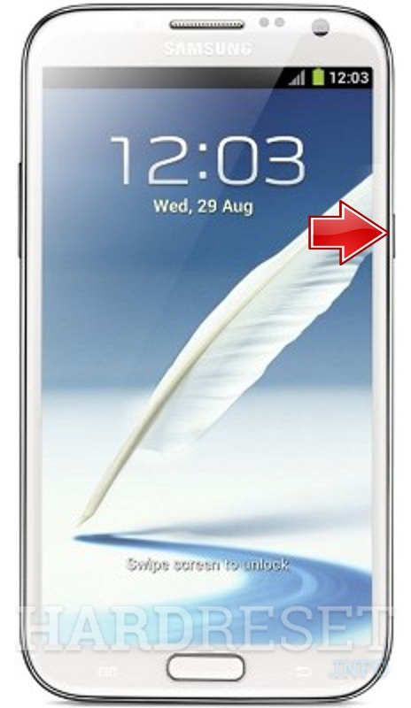Hard Reset SAMSUNG T889 Galaxy Note II (T-Mobile)