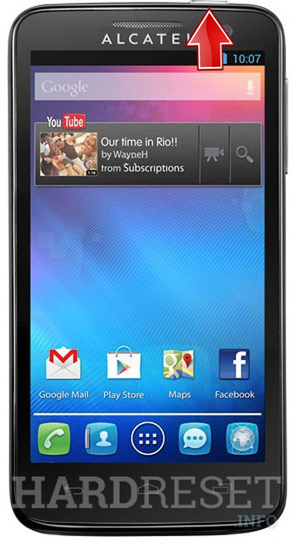 Hard Reset ALCATEL 5035D One Touch X'Pop