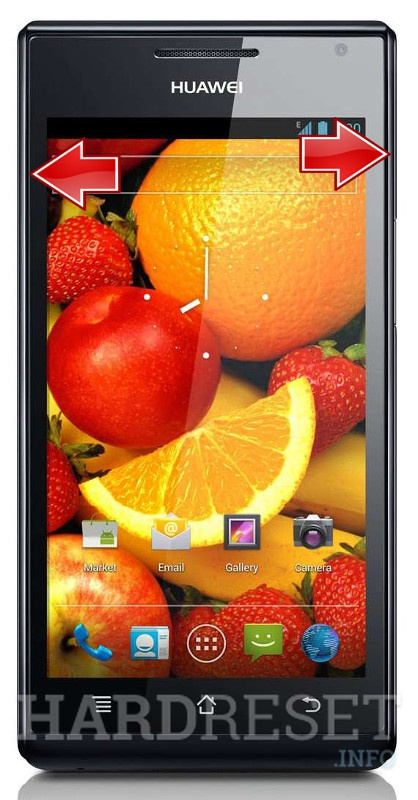 HardReset HUAWEI Ascend P1 S