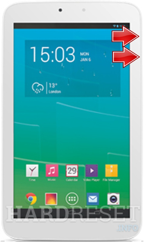 HardReset ALCATEL P330A One Touch POP 7S