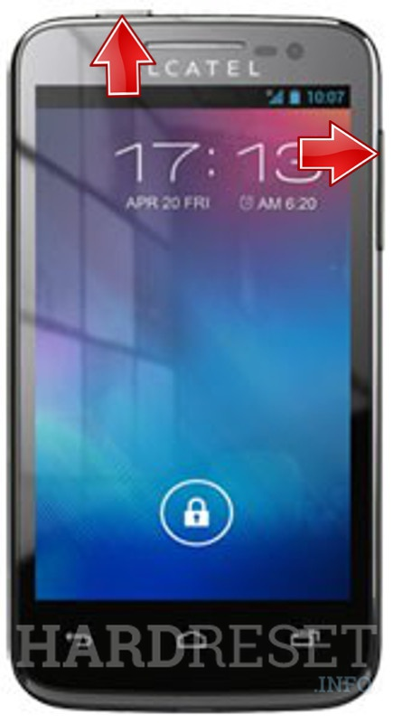HardReset ALCATEL OT-5020 One Touch M'Pop