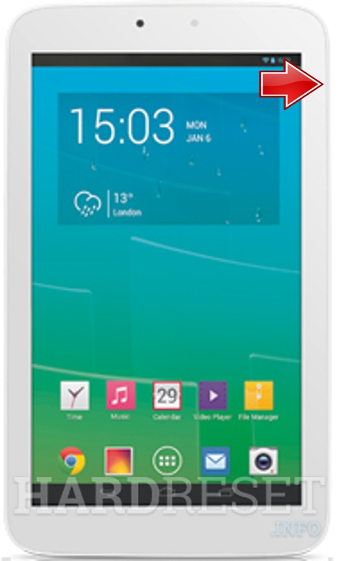 Bootloader Mode ALCATEL P330A One Touch POP 7S - HardReset info