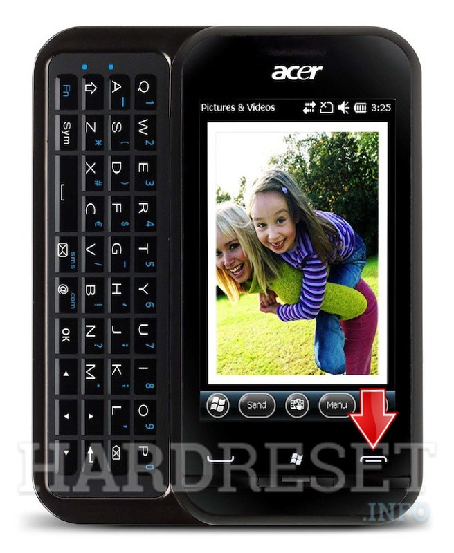 Hard Reset ACER P300 neoTouch