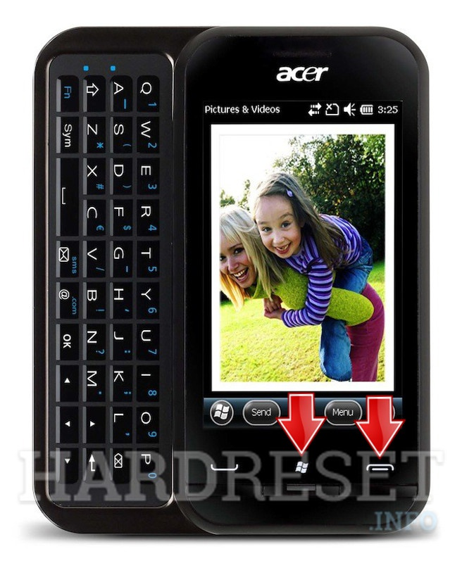 HardReset ACER P300 neoTouch