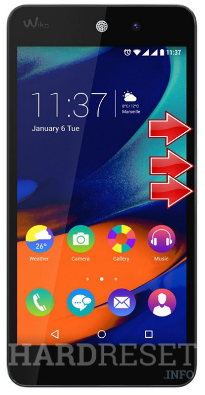 HardReset WIKO Rainbow Up 4G