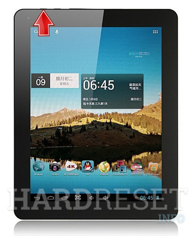 Hard Reset PLOYER MOMO 19 Quad Core