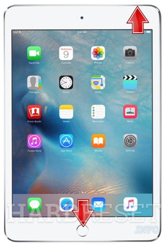 Recovery Mode APPLE iPad mini 4 Wi-Fi - HardReset info