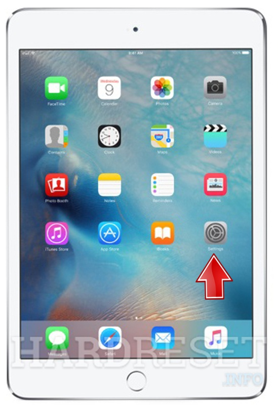 Hard Reset APPLE iPad mini 4 Wi-Fi