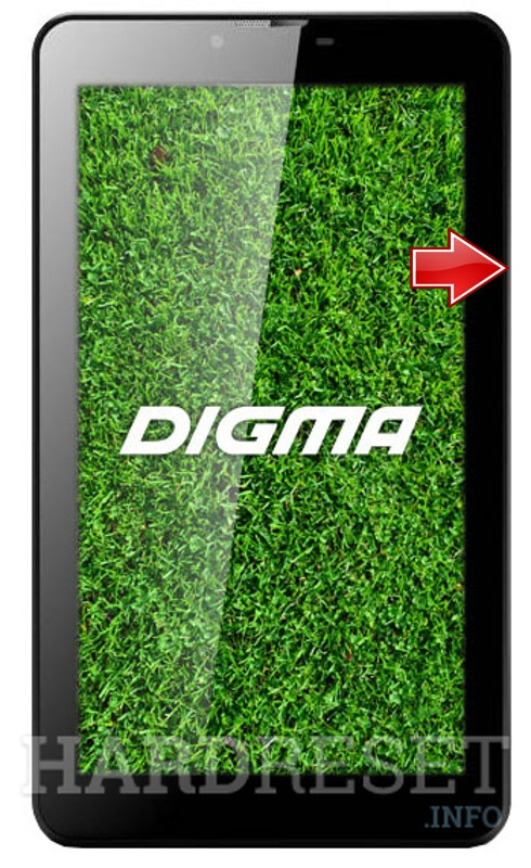 Hard Reset DIGMA Optima 7.07 3G