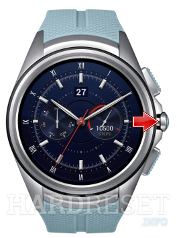 Hard Reset LG G Watch R W110
