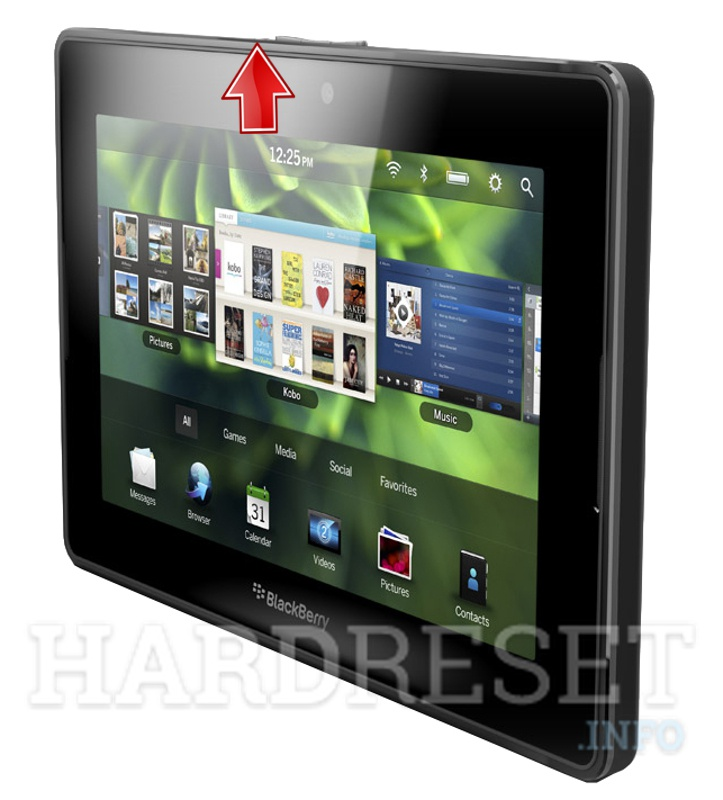 Hard Reset BLACKBERRY PlayBook