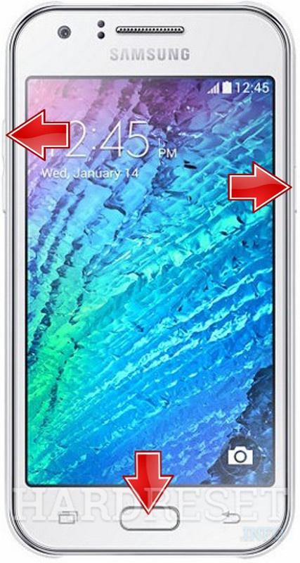 HardReset SAMSUNG J200F Galaxy J2