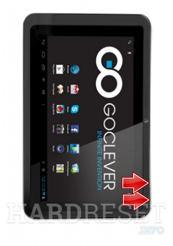 HardReset GOCLEVER Tab R76.2
