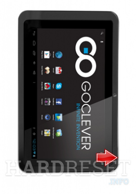 Hard Reset GOCLEVER Tab R76.2