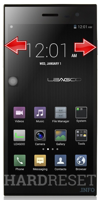 HardReset LEAGOO Lead 1