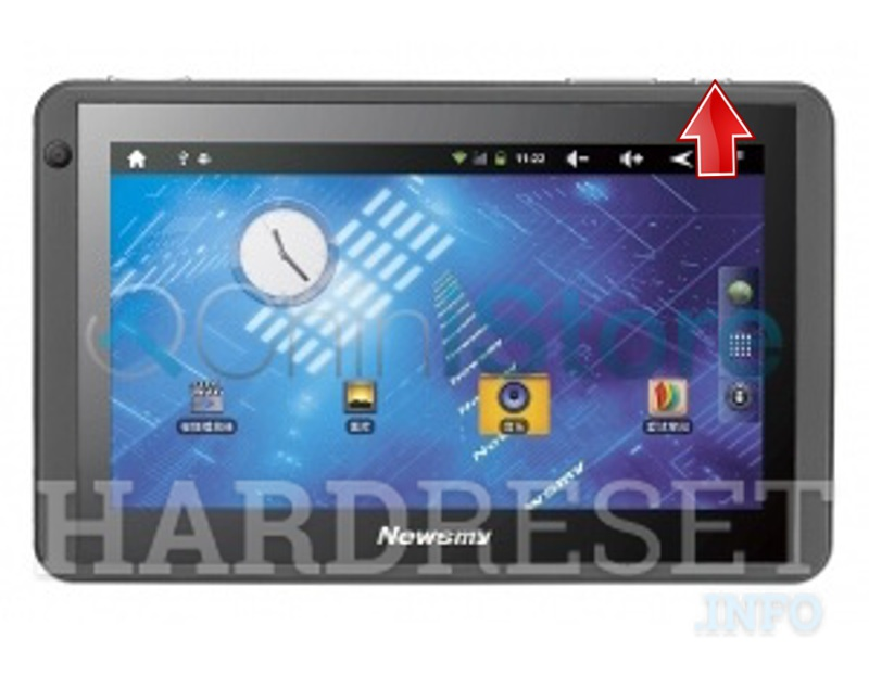 Permanently delete data from NEWMAN NewPad M7