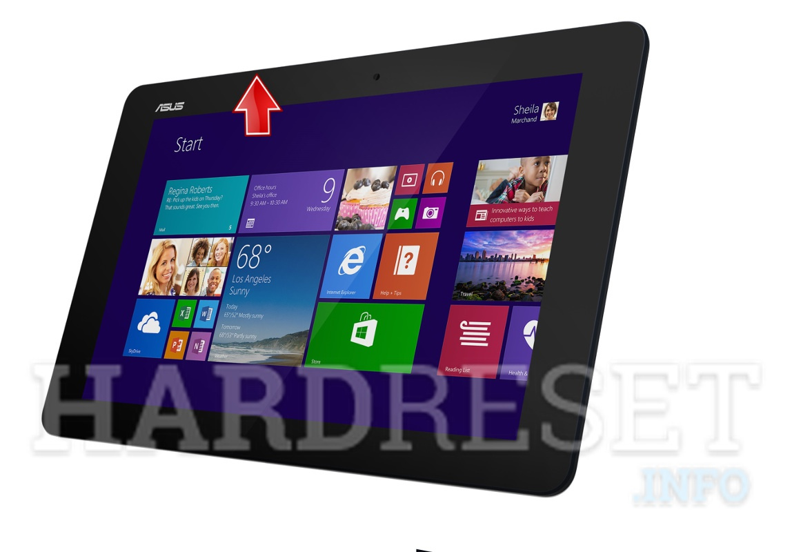 Hard Reset ASUS Transformer Book T100 Chi