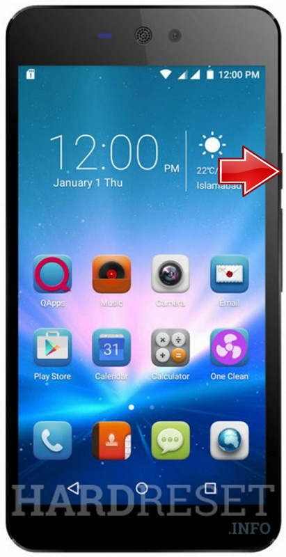 Permanently delete data from QMOBILE Linq L15