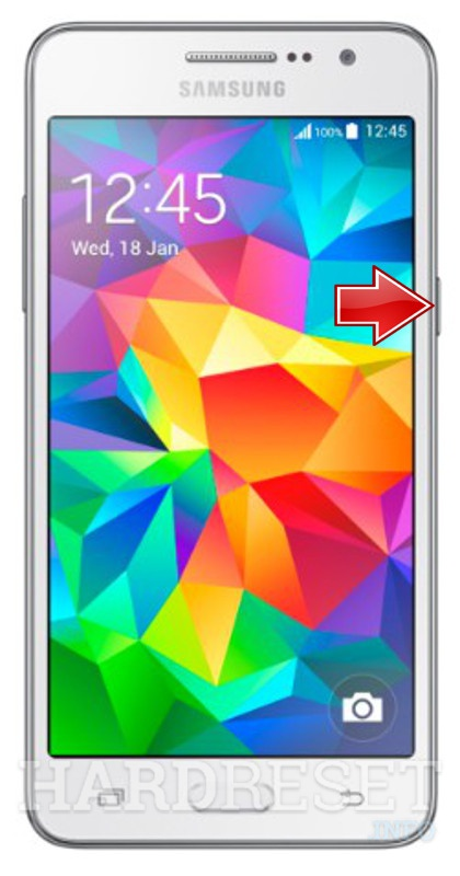 Hard Reset SAMSUNG G531F Galaxy Grand Prime 4G
