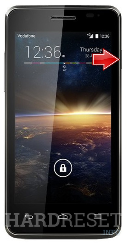 Factory Reset VODAFONE 889N Smart 4 Turbo