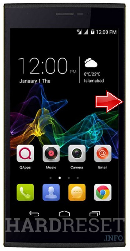 Hard Reset QMOBILE Noir Z8 Plus