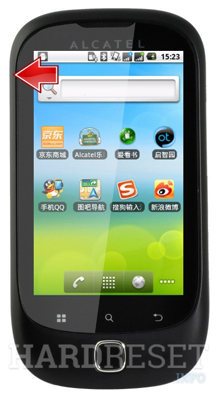 Hard Reset ALCATEL OT-927D
