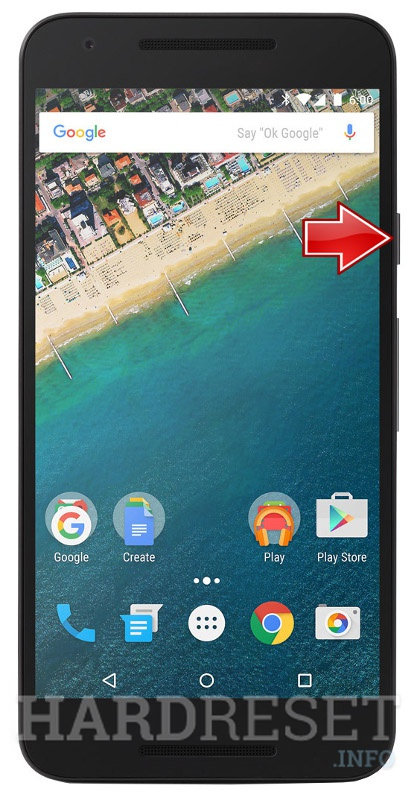 Hard Reset LG Nexus 5X International H791