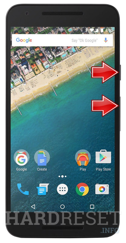 HardReset LG Nexus 5X International H791