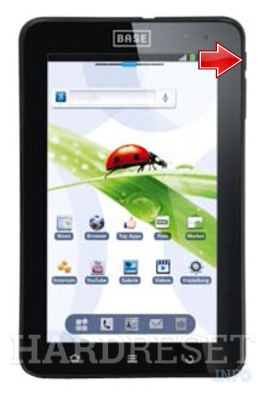 Hard Reset ZTE BASE TAB 7.1