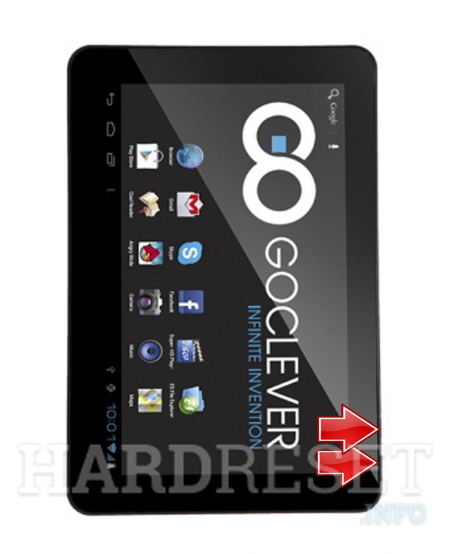 HardReset GOCLEVER Tab R106