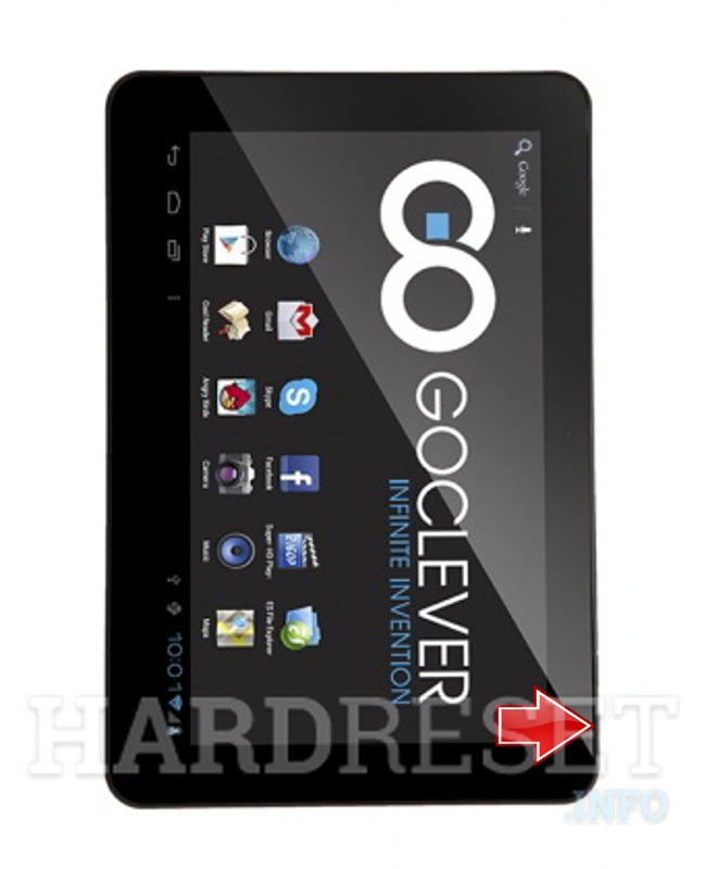 Hard Reset GOCLEVER Tab R106