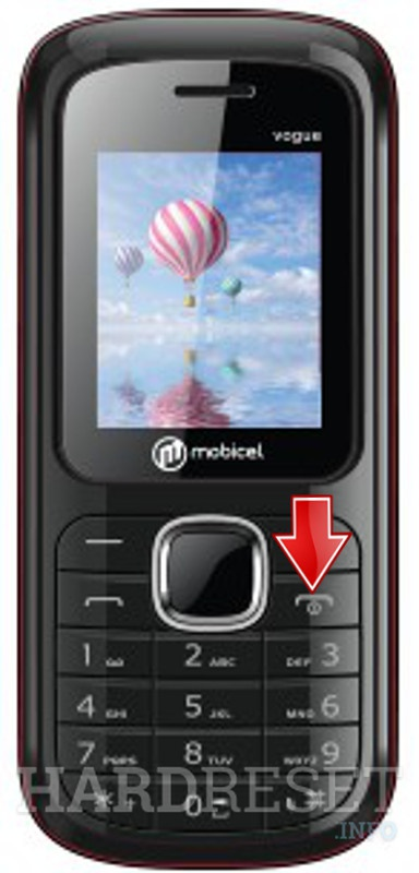 Hard Reset MOBICEL Vogue