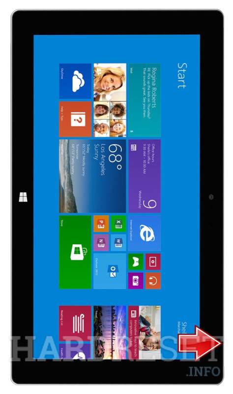 Hard Reset MICROSOFT Surface 2 WiFi