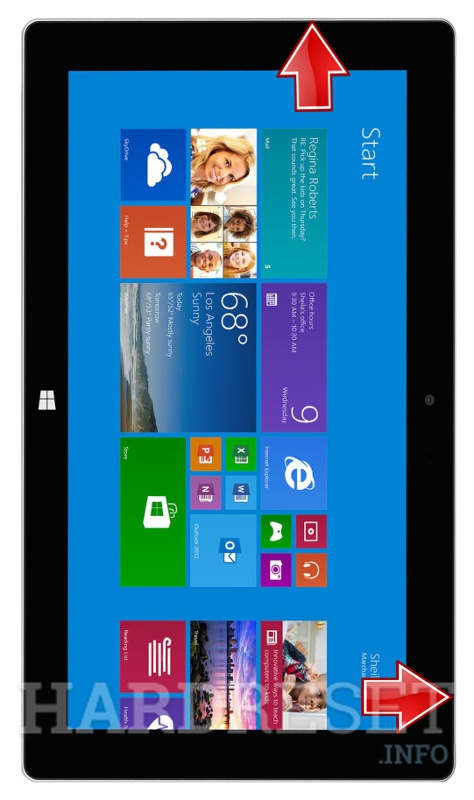 HardReset MICROSOFT Surface 2 WiFi