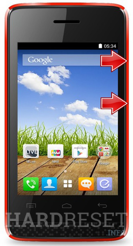 Remove screen password MICROMAX Bolt A066