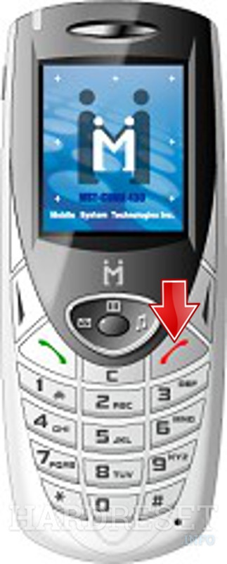 Hard Reset MOBILE-SYSTECH MCH-550